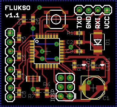 Flukso sensor board v1.1